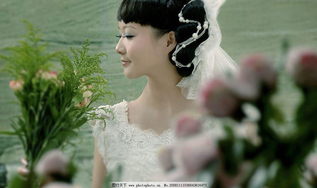 婚纱摄影 婚纱 摄影 写真 美女 人物图库 女性女人 摄影图库 300dpi j