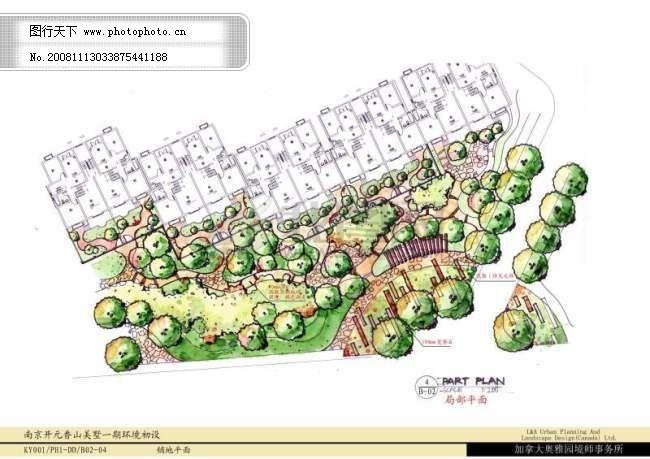 小区设计手绘图