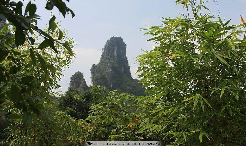 风景 小山 世外桃园 蓝天 桂林 人间仙境 绿化 旅游摄影 国内旅游