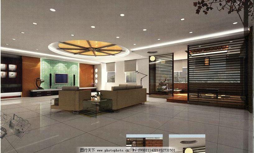 石狮庄氏别墅 3d设计模型 办公文化空间模型 源文件库 材质灯光齐全