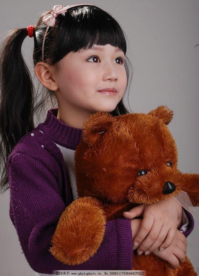 可爱 儿童摄影 可爱的小女孩