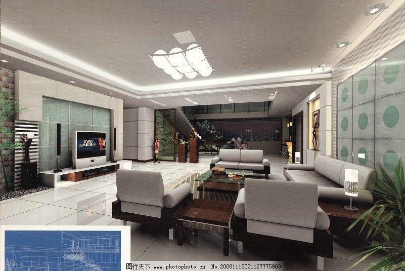 石狮某楼中楼 3d设计模型 办公文化空间模型 源文件库 材质灯光齐全
