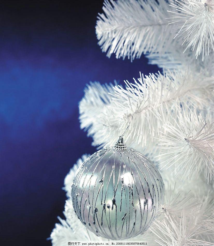 圣诞节装饰品图片_树木树叶_生物世界_图行天下图库