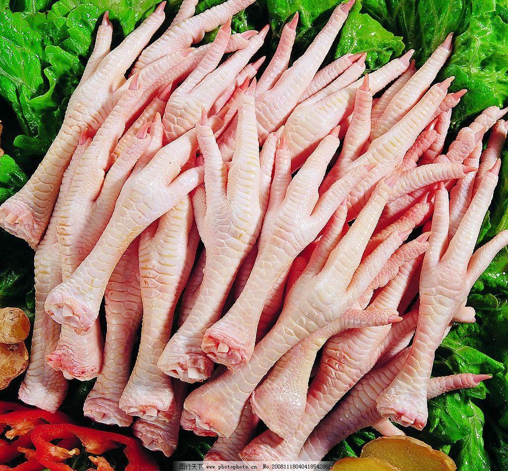 鸡爪 海报素材 超市百货 生鲜 高清晰 餐饮美食 食物原料 摄影图库