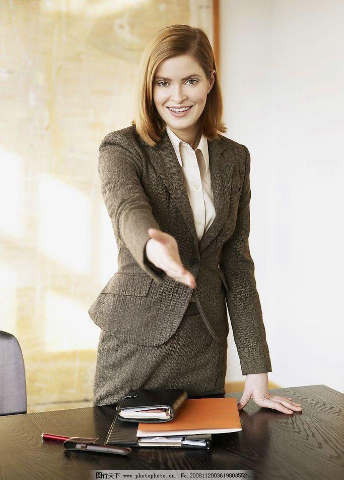 白领商务办公室人物图片