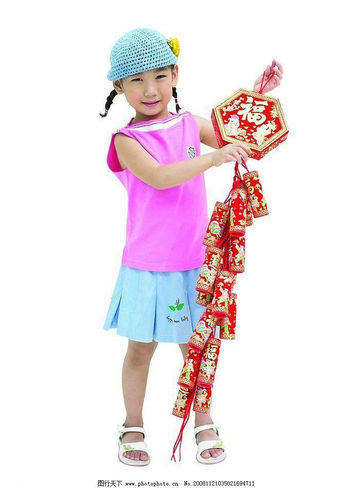 可爱儿童 儿童生活照 相馆海报 鞭炮等 文化艺术 节日庆祝 摄影图库