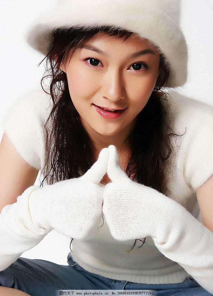 梦想中国张勤 全国六强 美女 清纯 可爱 女孩 明星 人物图库