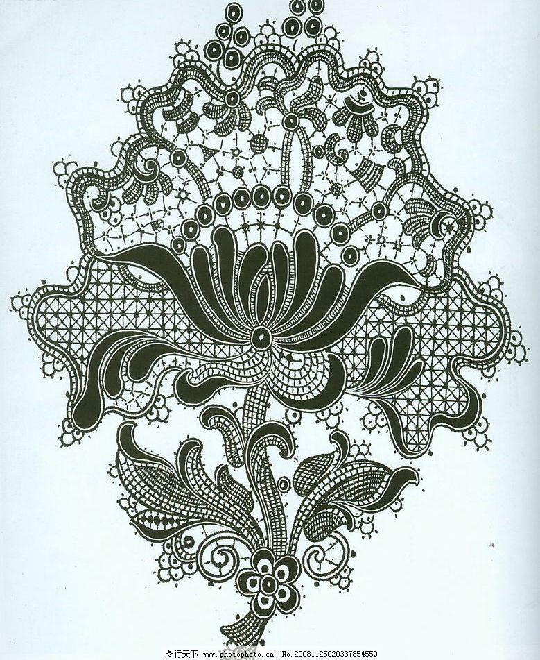 蕾丝 蕾丝纹理 图案 蕾丝结构 花纹 底纹边框 花边花纹 设计图库 200