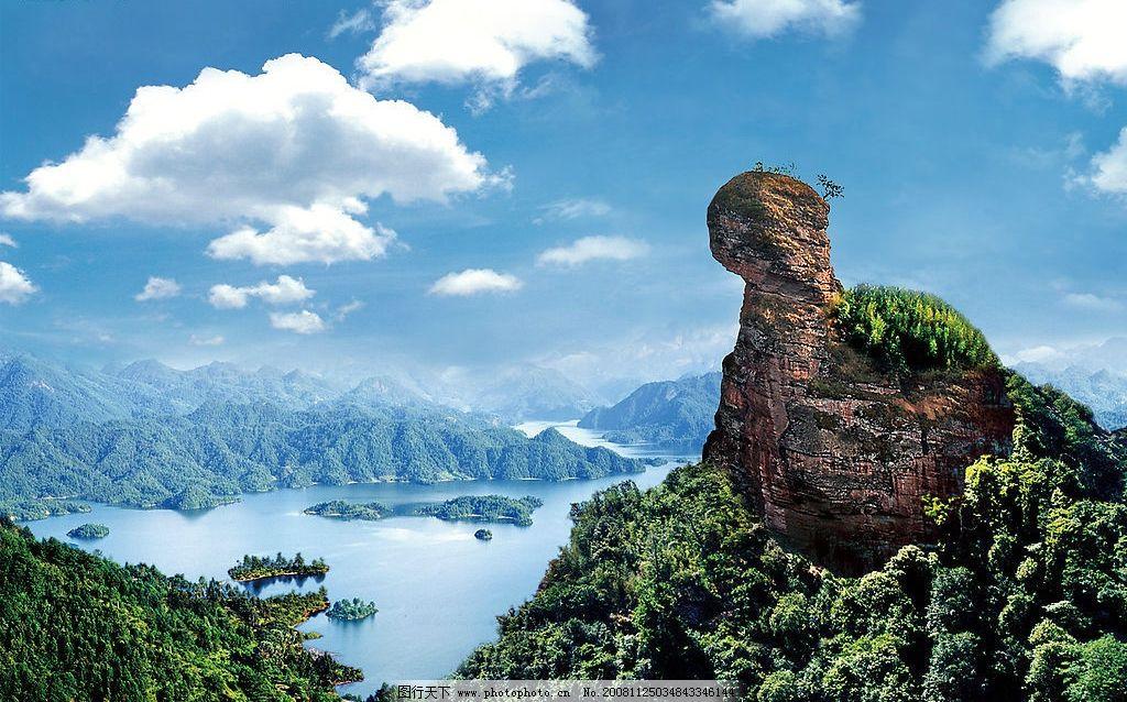 金湖 猫儿山 自然景观 自然风景 摄影图库 300dpi jpg