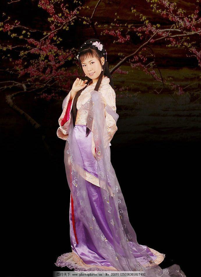 古典美女写真汉服图片