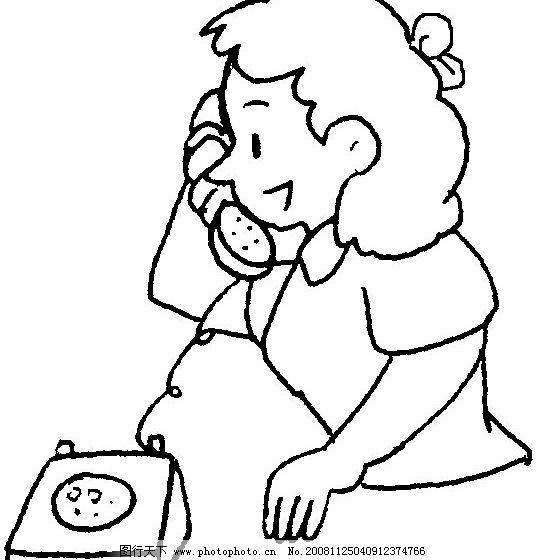 打电话图片_动画素材_flash动画