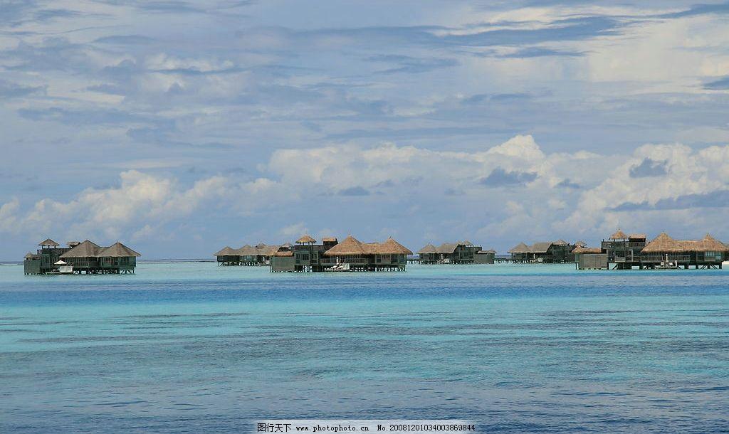 马尔代夫海景图片