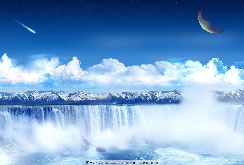 梦幻风景图图片
