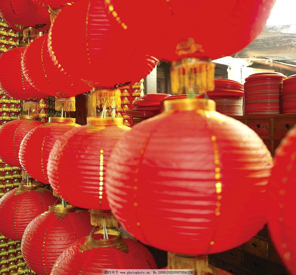 灯笼 过年 新年 喜庆 文化艺术 节日庆祝 摄影图库