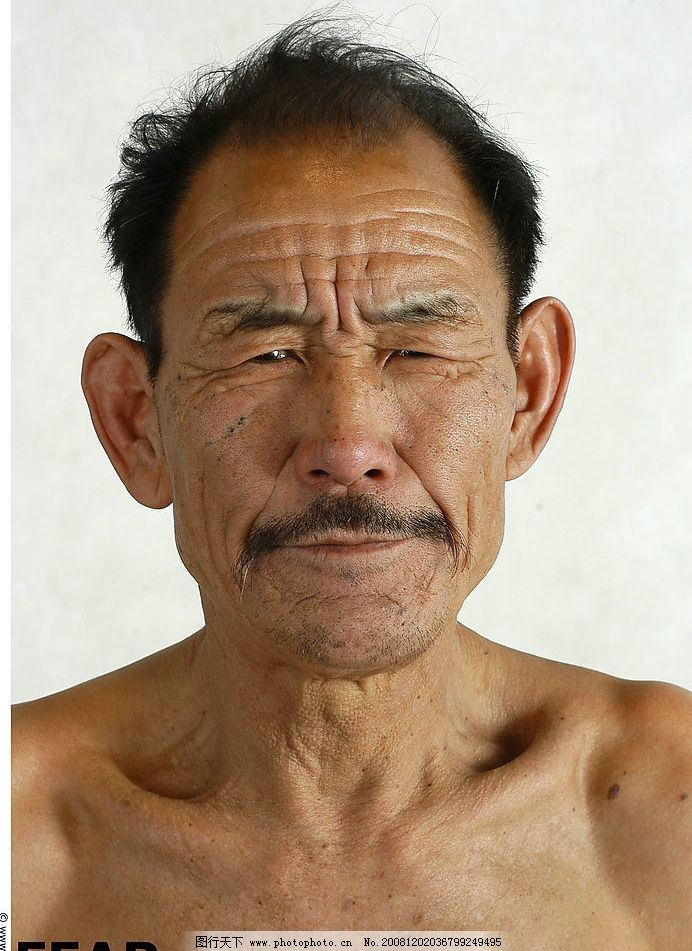 男性素材 老人正脸高清 人物图库 男性男人 摄影图库 72dpi jpg