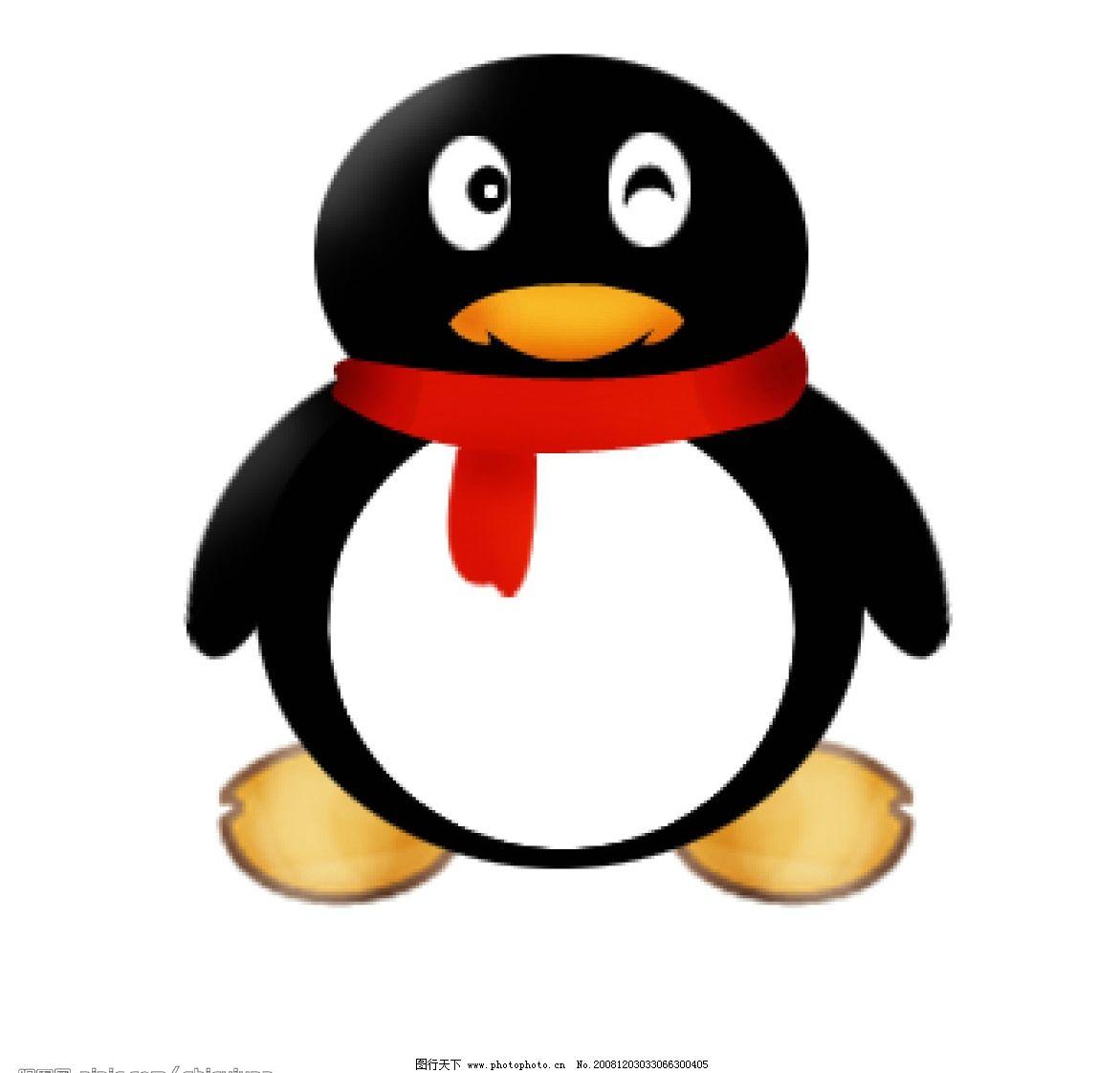 企鹅 手绘企鹅 动漫动画 动漫人物 源文件库 72dpi psd