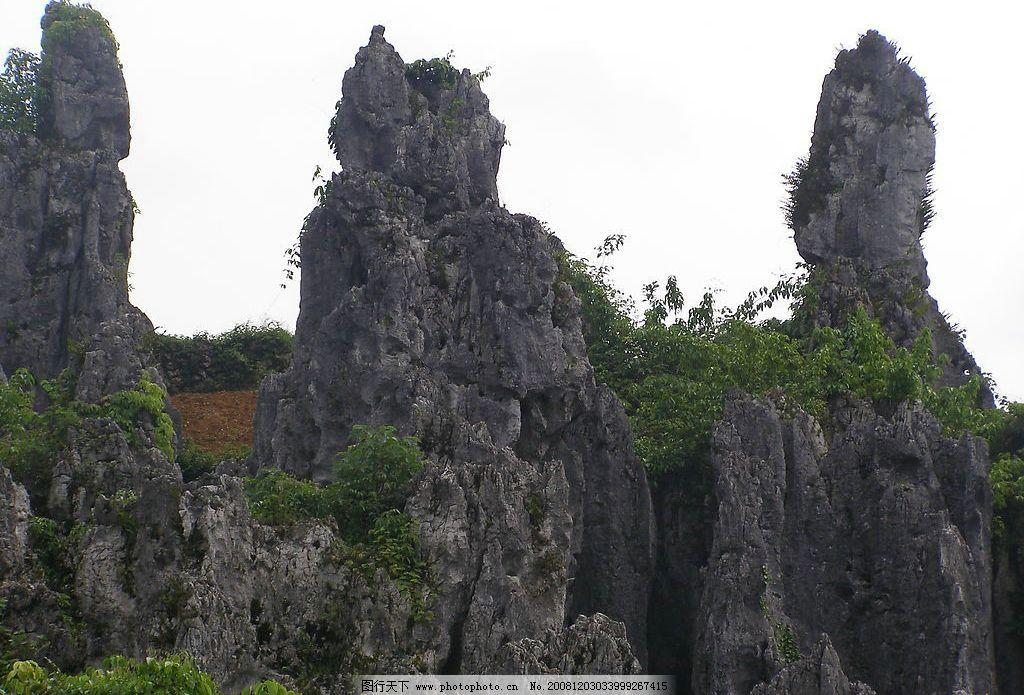 贵州思南石林风景图片