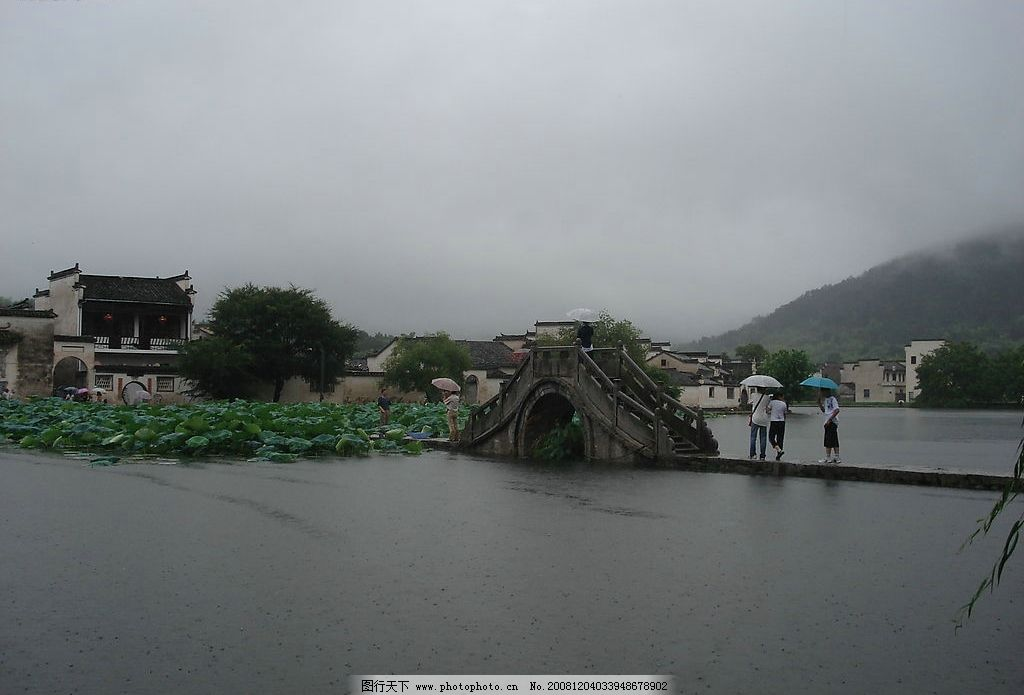 雨中石嘴山最美风景