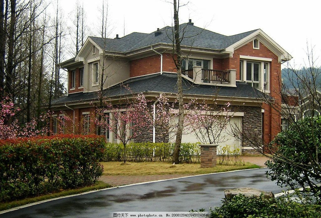 别墅 豪宅 杭州 风景 建筑园林 建筑摄影 摄影图库 180dpi jpg