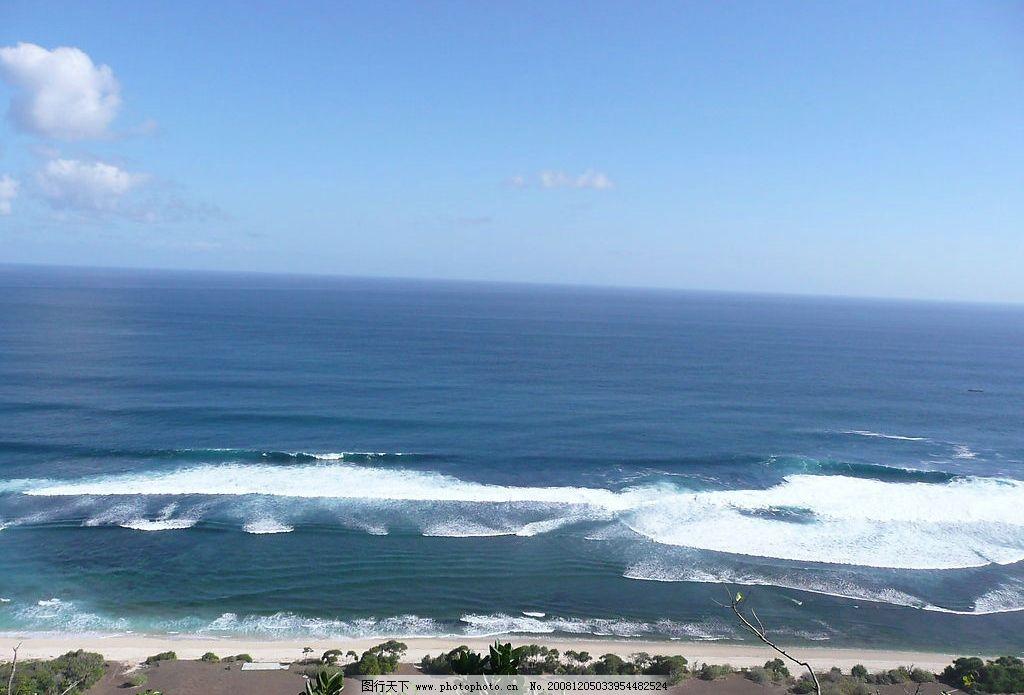 海边 大海 海滩 海岸 海水 海浪 蓝天 白云 天空 地平线 原创摄影