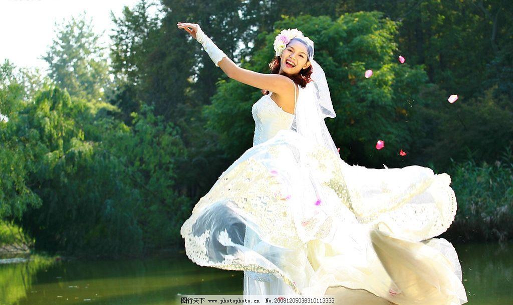 外景作品 婚纱摄影 美女 新娘 我的 人物图库 人物摄影 摄影图库 72