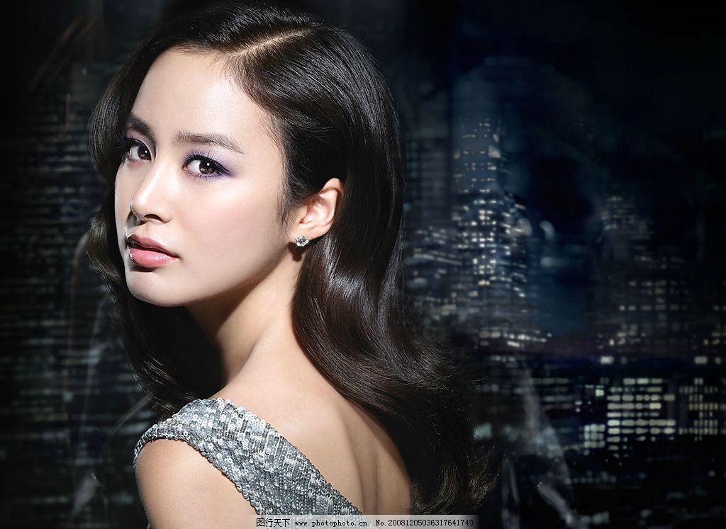 美女明星 韩国优雅女性图片