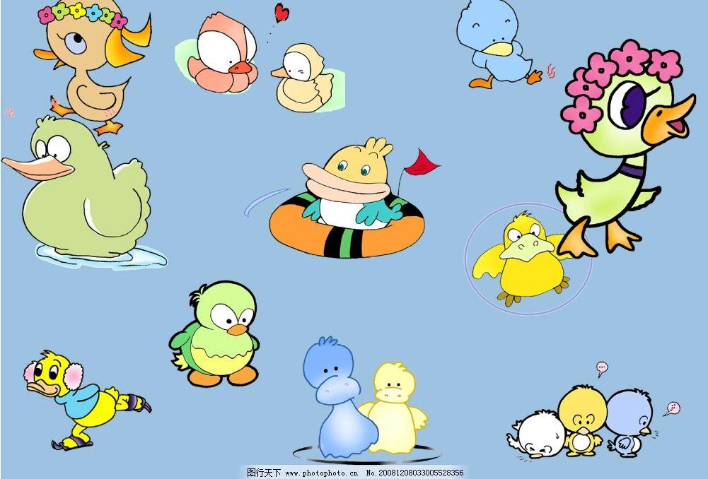可爱的小鸭子图片