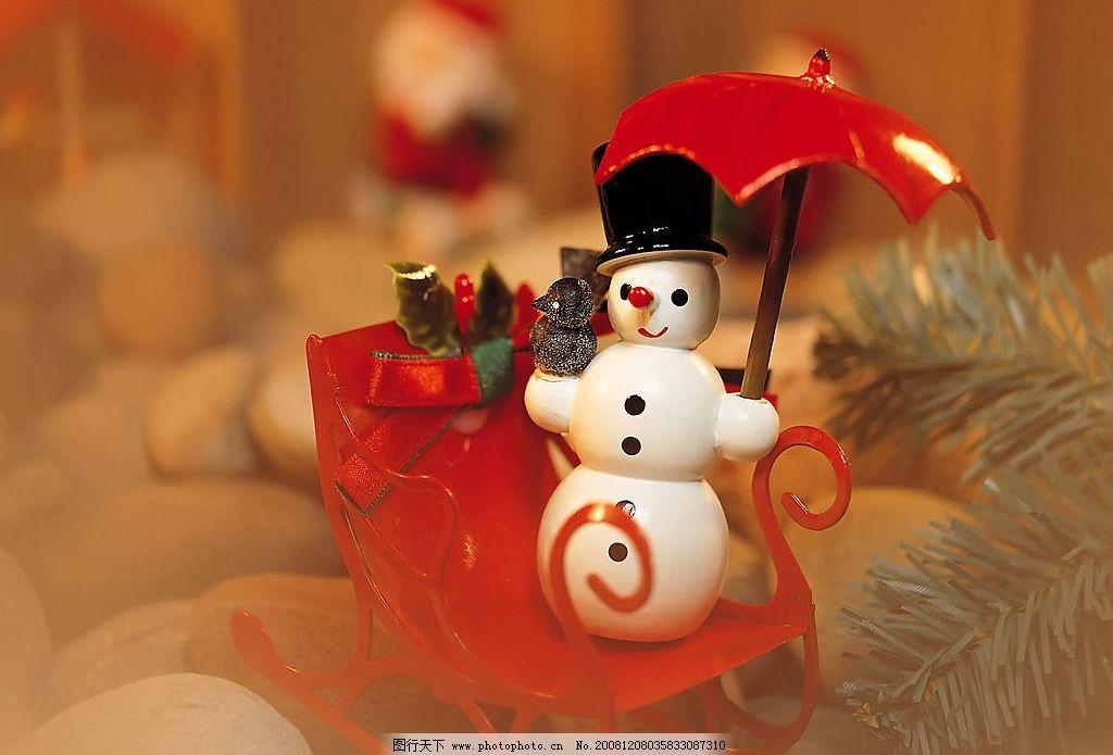 圣诞图片_树木树叶_生物世界_图行天下图库