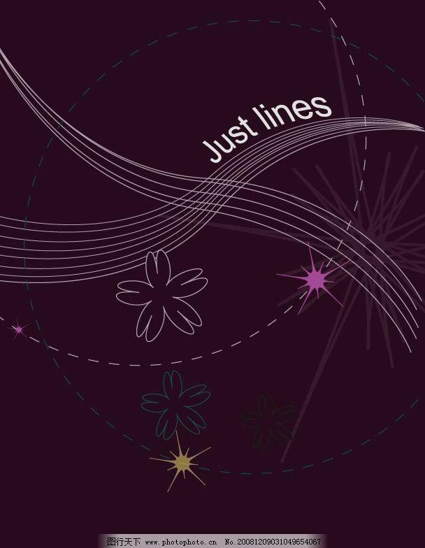ai 中简单线条组成 广告设计 其他设计 矢量图库 ai
