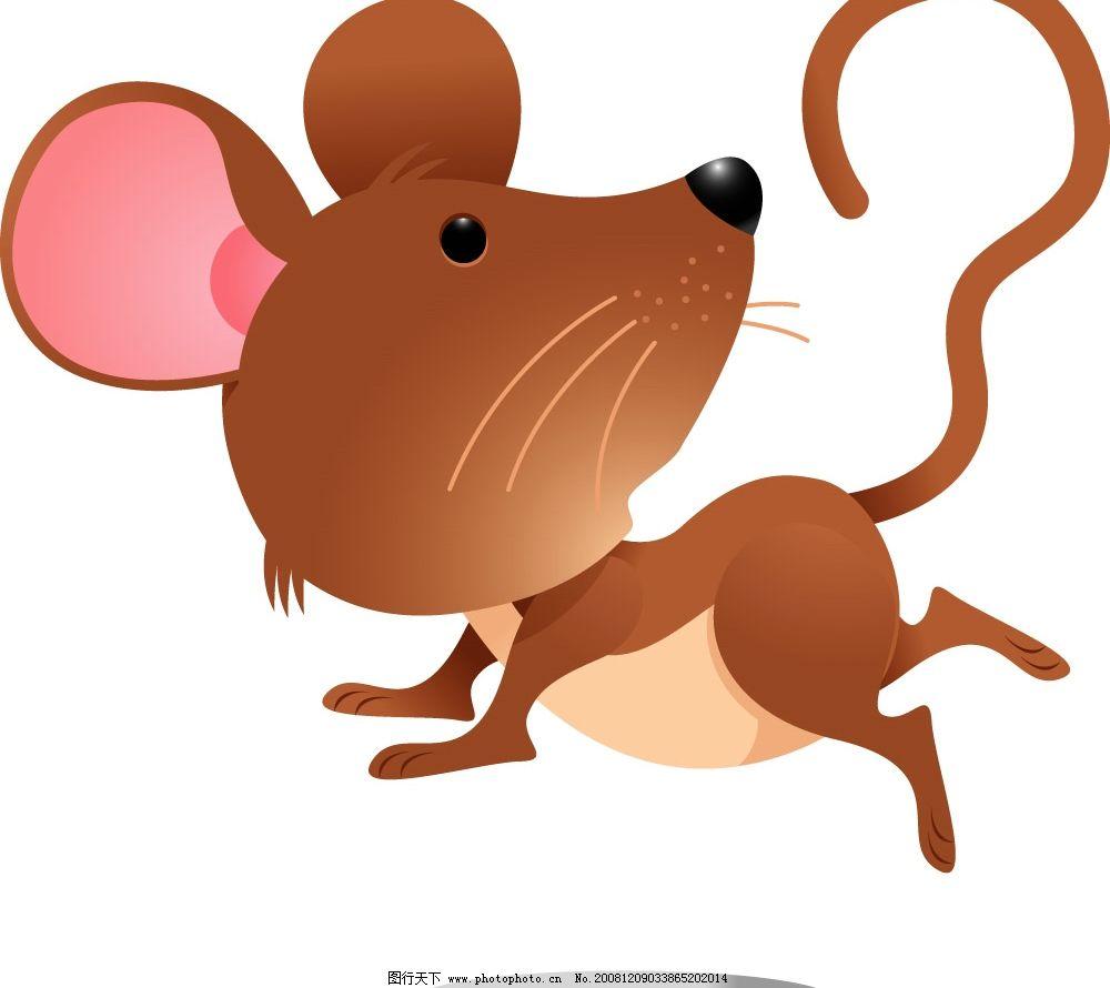 老鼠 跑跳的老鼠 其他矢量 矢量素材 矢量图库 ai