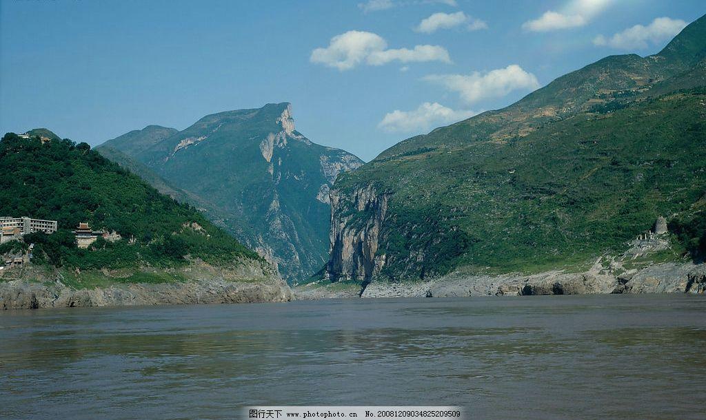 江河 山水 风光 河流 山川 河水 树木 天空 自然景观 自然风景 摄影