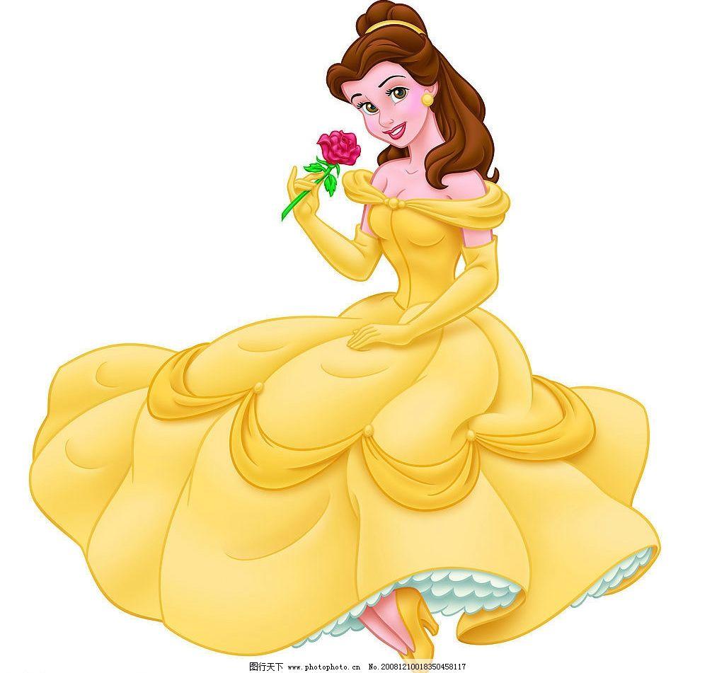 公主 白雪公主 迪斯尼 动漫动画