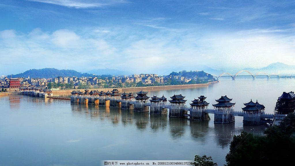 潮州风景 湘子桥图片