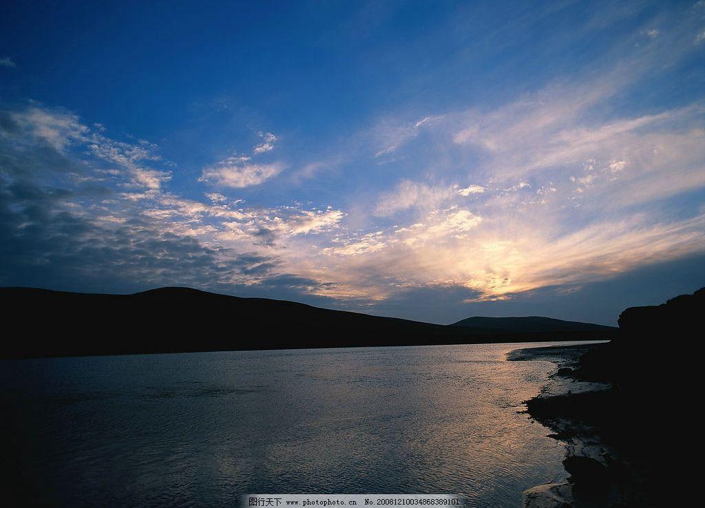 江河 旅游 胜地 河水 山水 河流 天空 蓝天 自然景观 自然风景