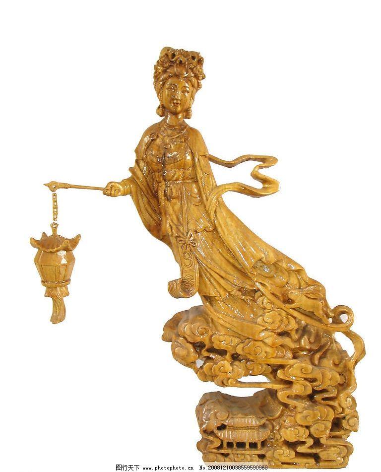 木雕 姮娥 根雕 木艺 根艺 月宫之神 神话人物 月亮上的仙女 嫦娥飞天