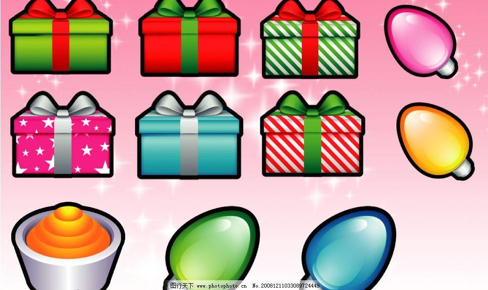 圣诞节卡通图标图片