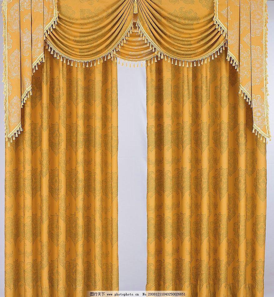 欧式设计 新中式窗帘贴图布纹