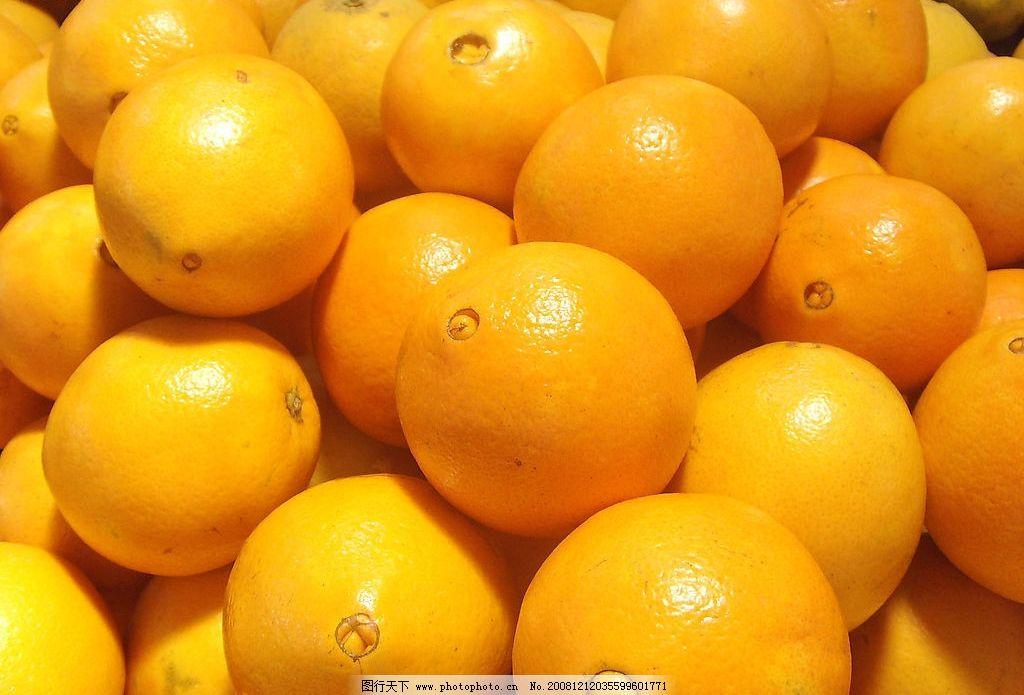 橙子 水果 橙 纽荷尔橙 丰收 其他 图片素材 摄影图库 96dpi jpg 生物