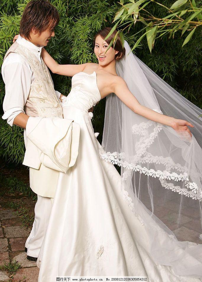 影楼外景婚纱样片图片
