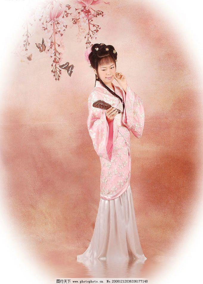 古典美女写真 古典 古代 美女 写真 人物图库 人物摄影 摄影图库 300