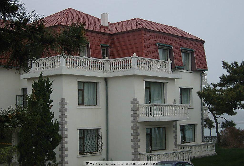 青岛八大关海边别墅图片