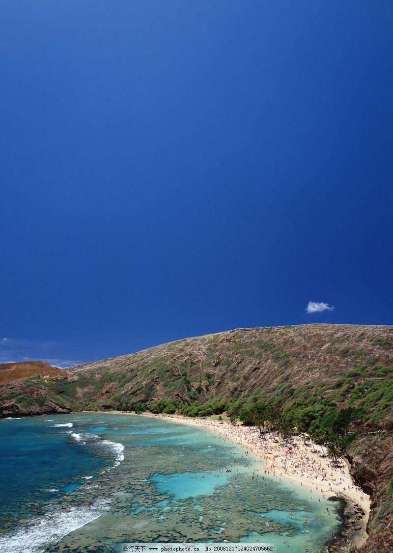 自然风景 海岛风情