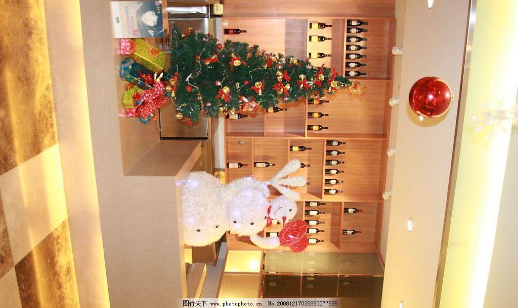酒店圣诞装饰图片_树木树叶_生物世界_图行天下图库