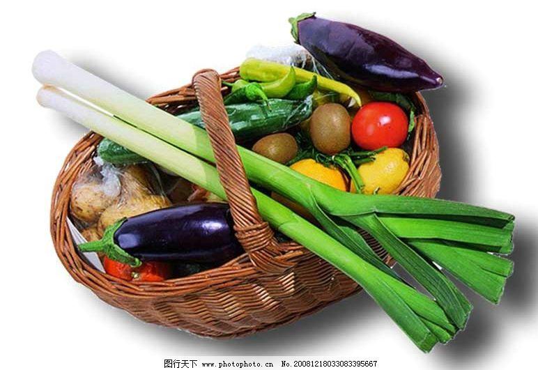 蔬菜篮子 蔬菜 篮子 竹篮 蔬果 psd分层素材 源文件库 150dpi psd