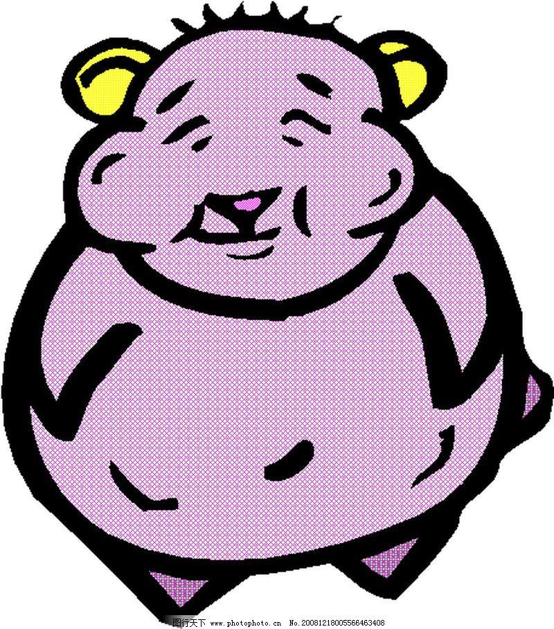 动物漫画7343_其他_矢量图_图行天下图库