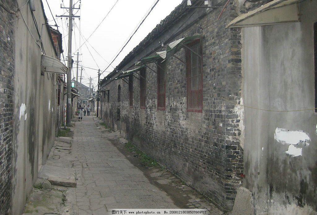 扬州古巷图片