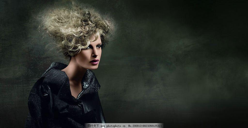 时尚发型图片