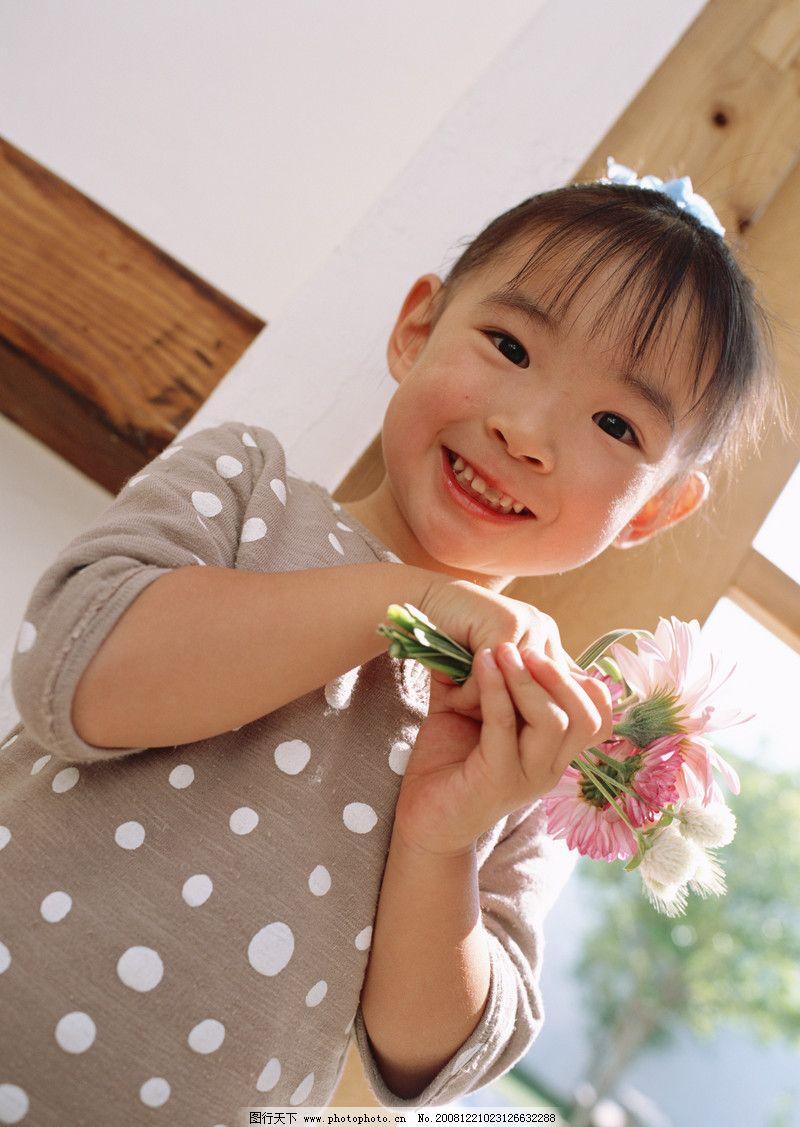 鲜花 人物 女孩 快乐/快乐家庭0185