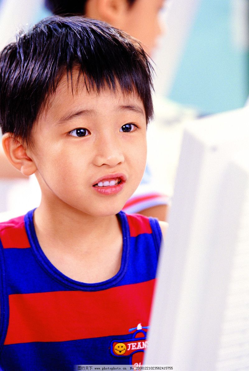 儿童姿态表情0005