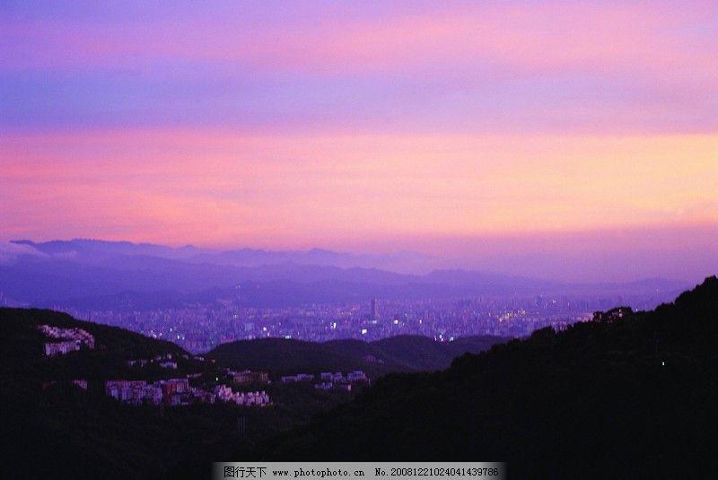 黄昏夜景0483